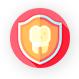 icone avec un bouclier et une molaire